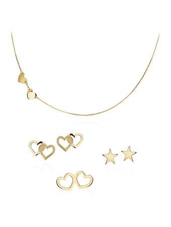 Conjunto-Coracoes-e-Estrelas-de-Ouro
