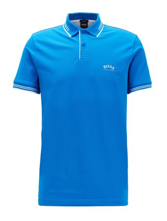 Polo-Paul-Curved-Azul