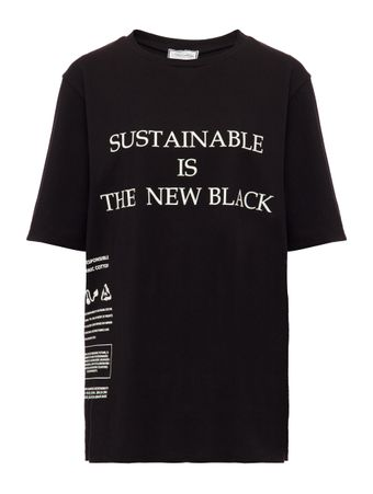 CAMISETA-TSHIRT-SUSTAINABLE-IS-THE-NEW-B-BLACK