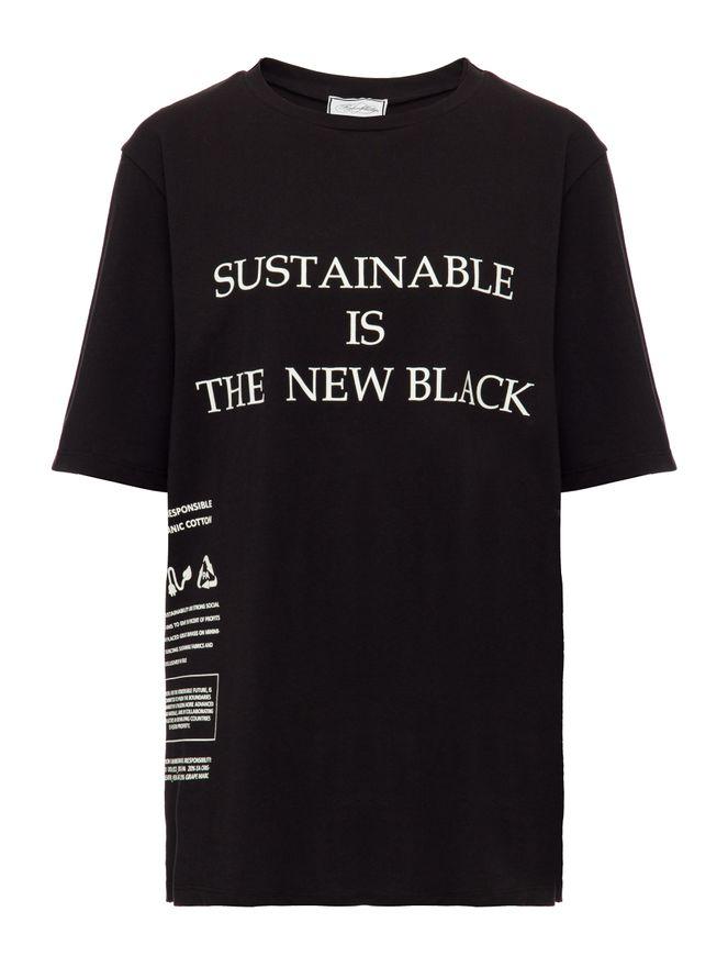 CAMISETA-TSHIRT-SUSTAINABLE-IS-THE-NEW-B-BLACK