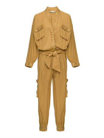 MACACAO-WOMEN'S-JUMPSUIT-CAMEL