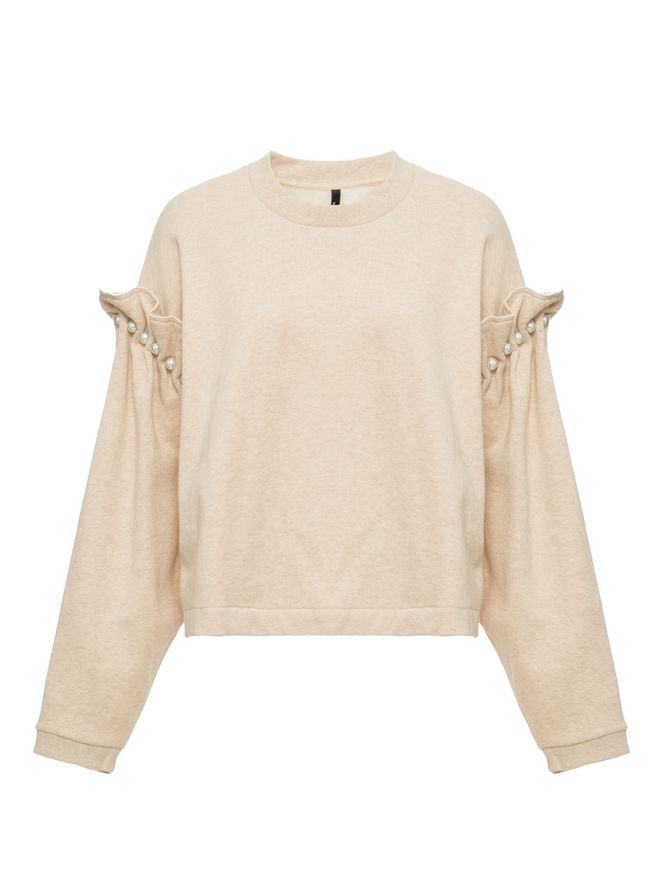 SUETER-CROPPED-JUMPER-WITH-PEARL-SHOULDE-OATMEAL
