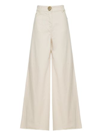 CALCA-WIDE-LEG-DENIM-TROUSER-ECRU