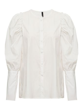 CAMISA-BLOUSE-WITH-PUFF-SLEEVE-WHITE