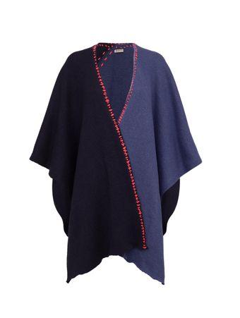 Poncho-Feminino-Tricot-Athene-Azul