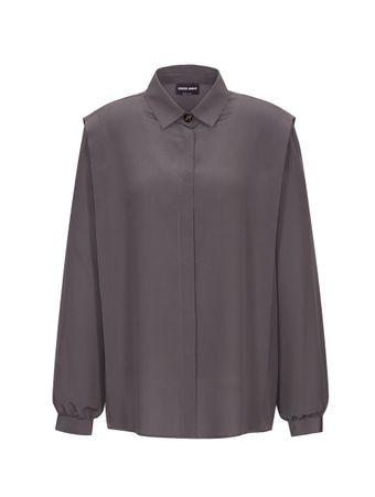 Camisa-Crepe-Cinza