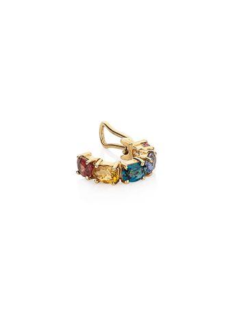 Piercing-Safiras-Coloridas-de-Ouro