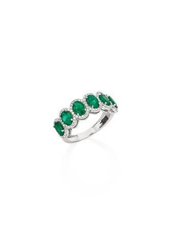 Anel-Esmeraldas-e-Diamantes-de-Ouro-Branco
