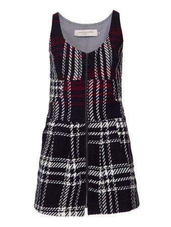 Vestido-Tweed-Xadrez