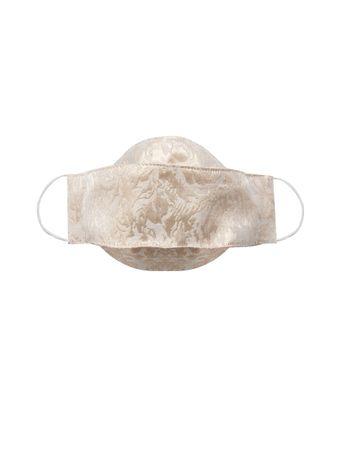 Mascara-de-Protecao-3D-Brocado-Metalizada