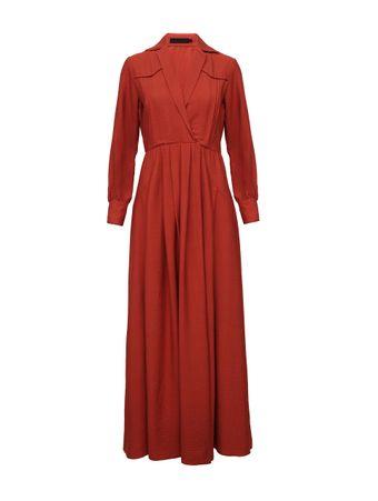Vestido-Fluido-Marrom