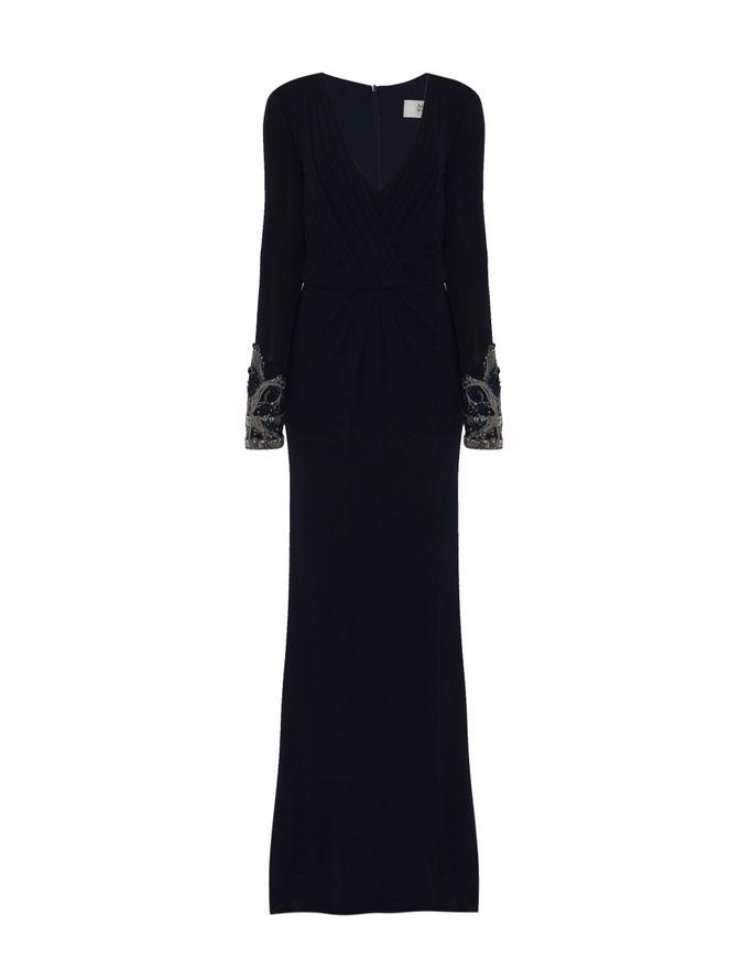 Vestido-Manga-Bordada-Azul