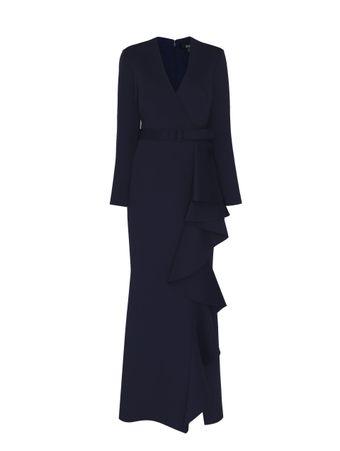 Vestido-Scuba-Azul