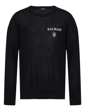 PULOVER-BALMAIN-PULL-OVER-0PA-BLACK