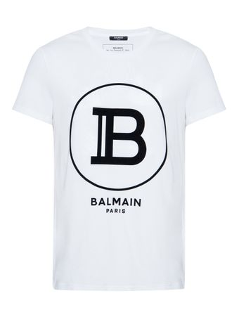 CAMISETA-FLOCK-BALMAIN-PARIS-T-SHIRT-0FA-WHITE