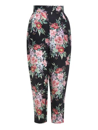 CALCA-BELLITUDE-TUCK-PANT-DARK-NAVY-FLORAL