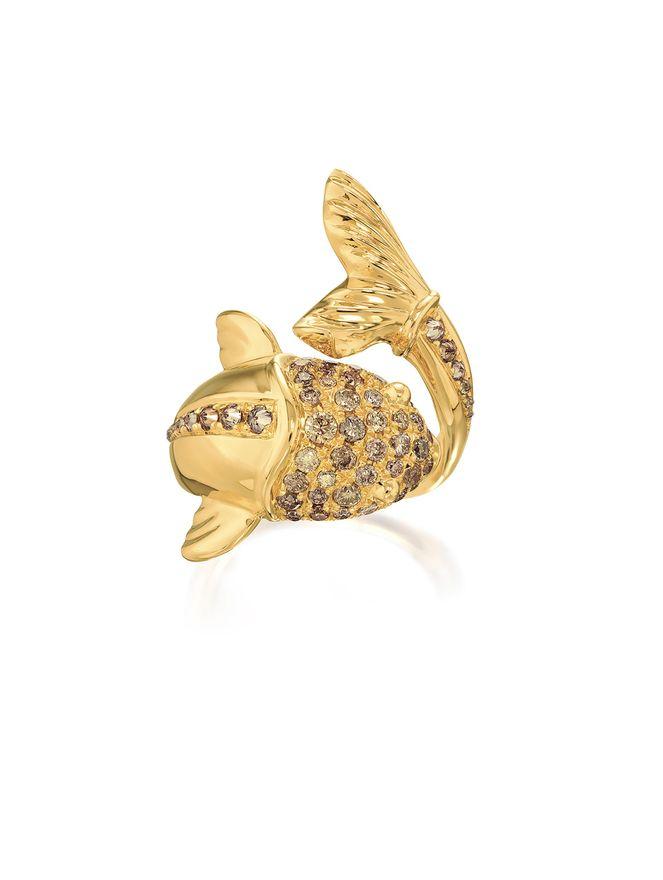 Anel-Peixe-de-Ouro