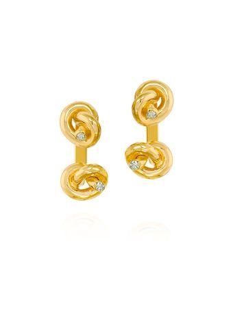 Brinco-Ear-Jacket-Love-Knot-de-Ouro