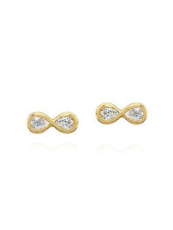 Brinco-Infinito-Diamantes-de-Ouro
