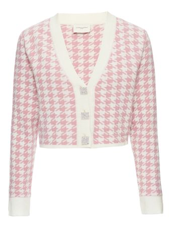 CARDIGAN--KNIT-WOMAN-PINK-TOP-PINK