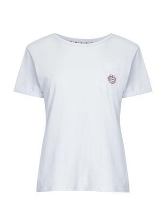 Camiseta-T-Shirt-Com-Bolso-Com-Logo-Branco